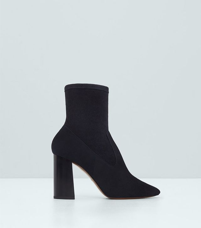 Mango Premium-Leather Ankle Boots