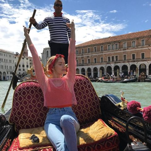 The Best Fashion Instagram Pictures of the Week: Lena Perminova in Venice