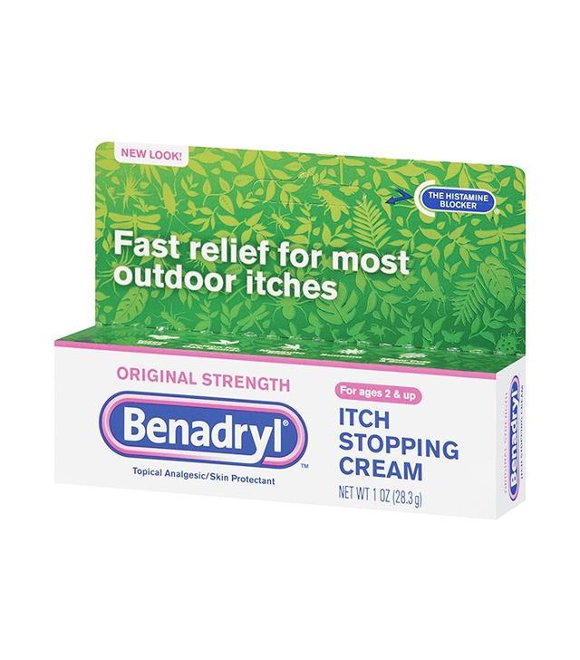 Benadryl Itch Stopping Cream