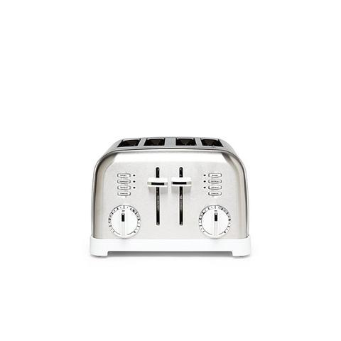 Metal 4-Slice Toaster