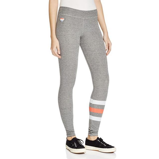 Sundry Stripe Leg Yoga Pants