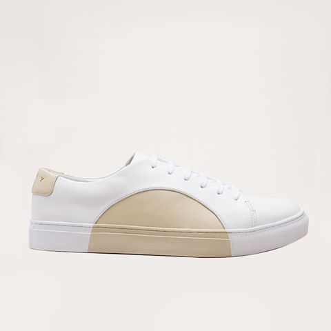 Circle Low in White-Beige