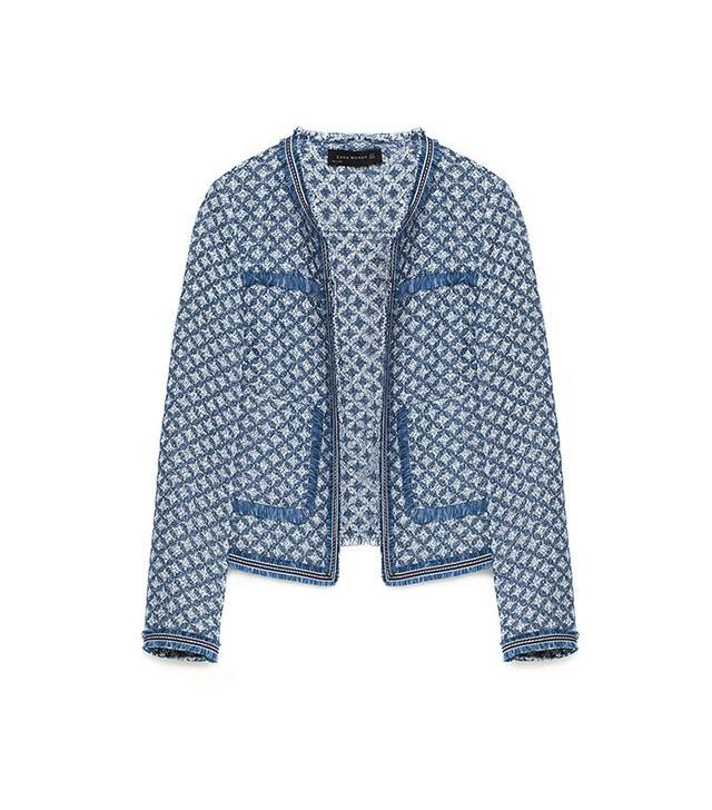 Zara Jacquard Jacket