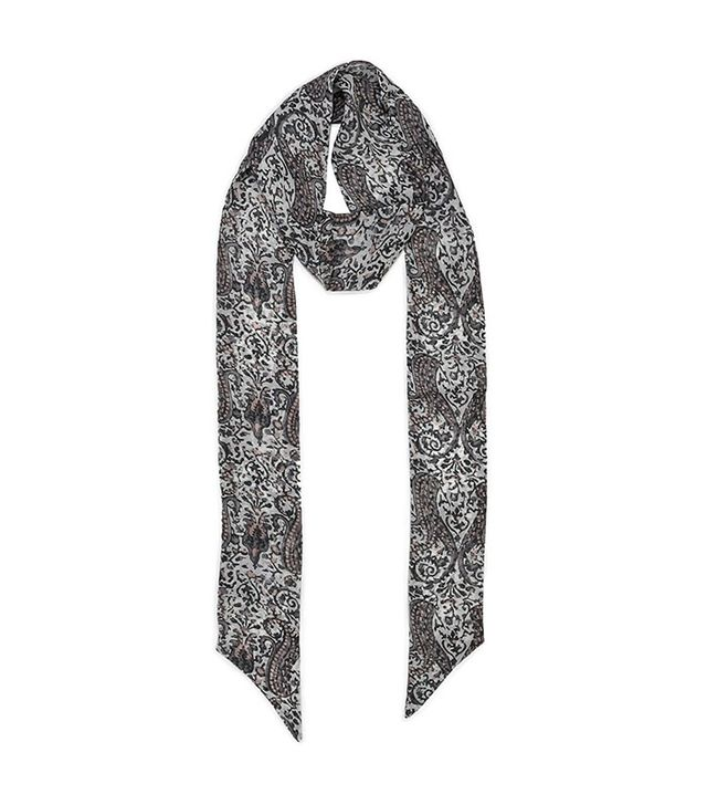 Paige Skinny Scarf in Santina Paisley