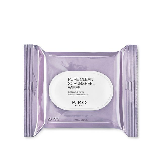 Kiko Pure Clean Scrub & Peel Wipes