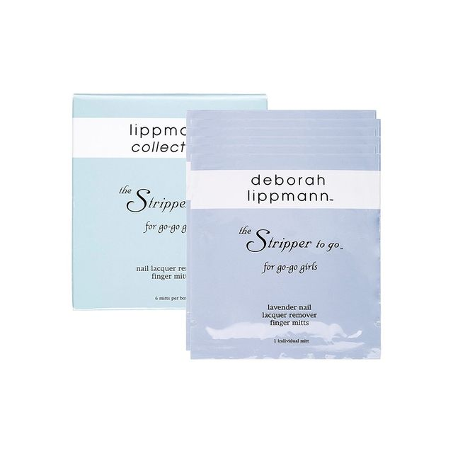 Deborah Lippmann The Stripper To Go Nail Lacquer Remover Mitts