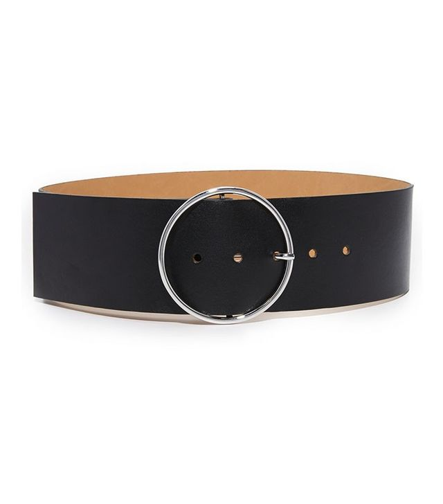 McQ Alexander McQueen Circle Buckle Belt