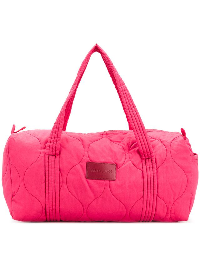 See by Chloé Quilted Duffel Tote