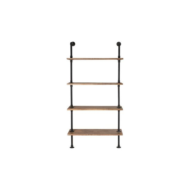 Freedom Conveyor Shelving Unit 192cm in Distressed Natural