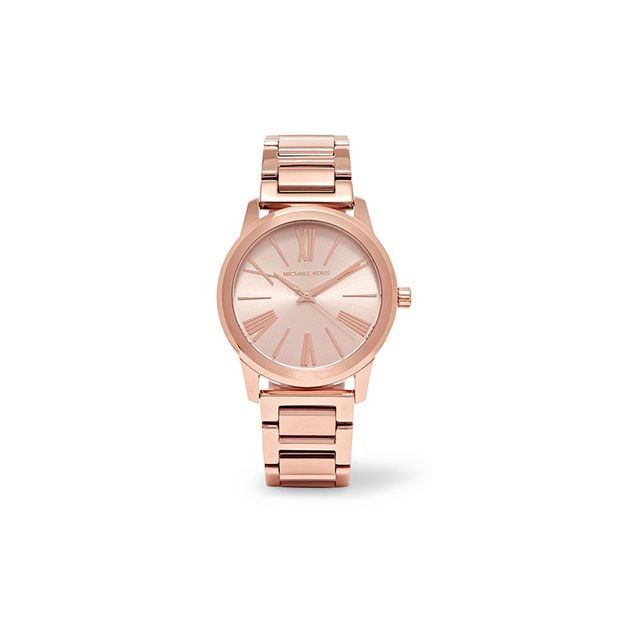 Michael Kors Hartman Rose Gold-plated Watch