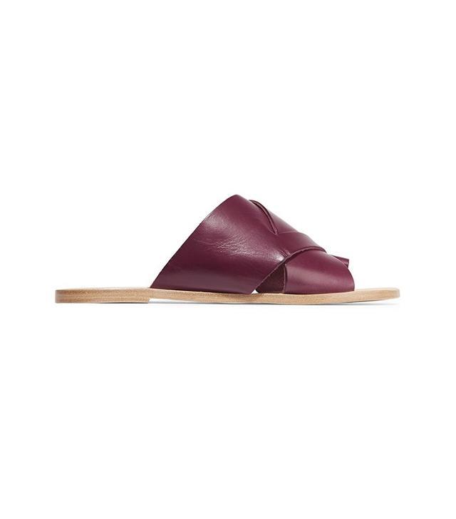 ATP Atelier Ilaria Leather Slides