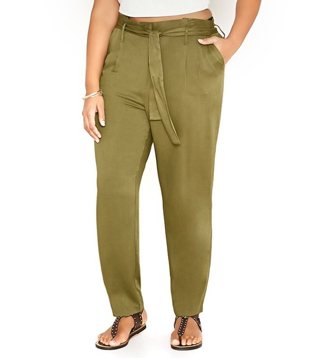 Forever 21 Plus Size Belted Pants