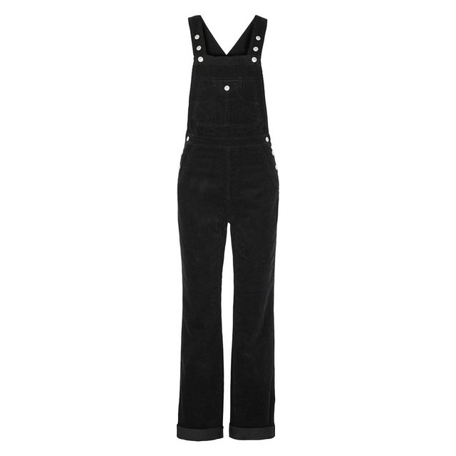 Alexa Chung for AG Jeans The Bunny Cotton-Corduroy Overalls