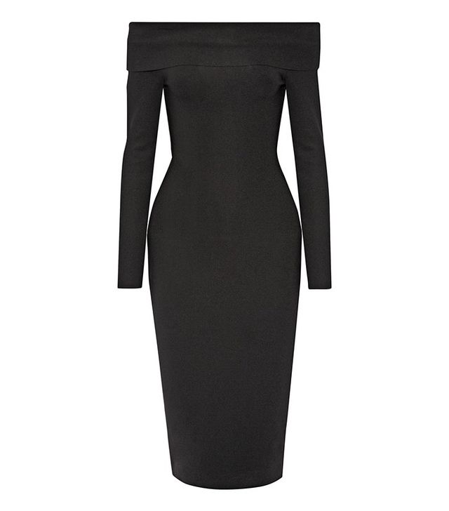 The Row Nania Off-the-Shoulder Dress