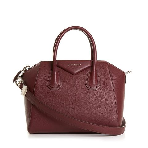 Antigona Medium Grained-Leather Tote