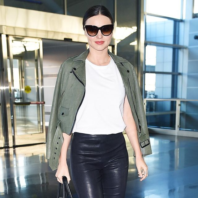 How Your Favorite Celebrities Dressed for the Airport Years Ago