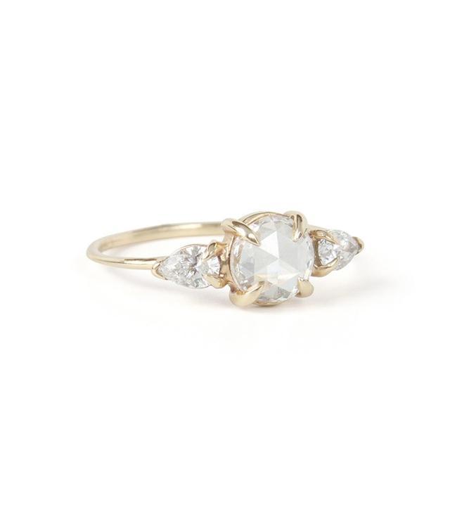 Catbird Serena Swan Ring