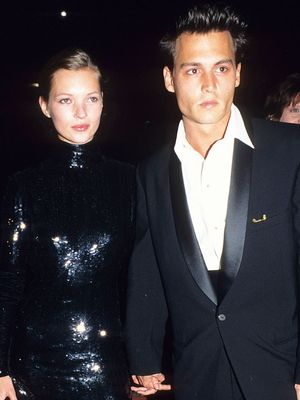 You Need to See the Dress Johnny Depp Gave Kate Moss When She Was 21