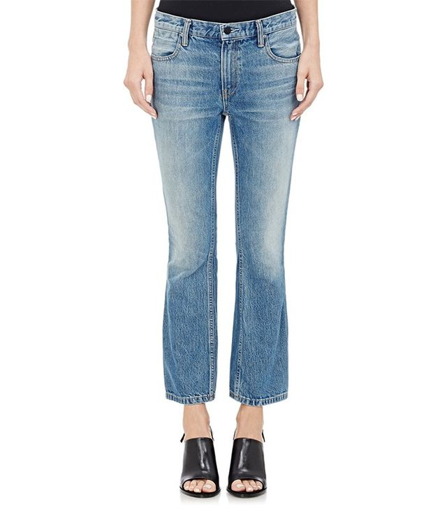 Denim x Alexander Wang Trap Crop Jeans