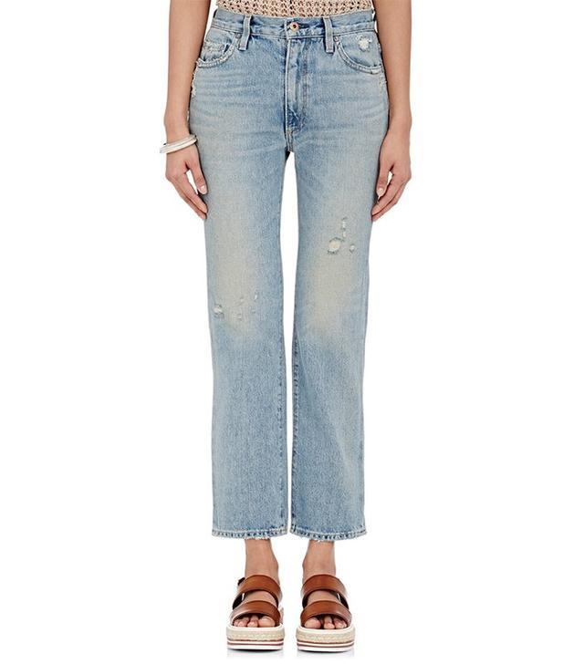 Simon Miller Straight Leg Crop Jeans