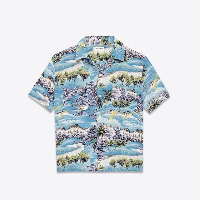 Saint Laurent Short Sleeve Hawaiian Shirt