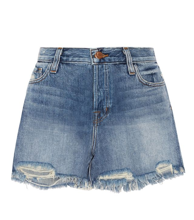 J Brand Ivy Distressed Denim Shorts