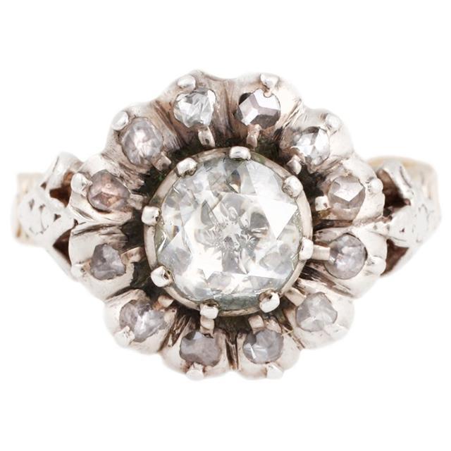 Vintage Georgian Cluster Ring