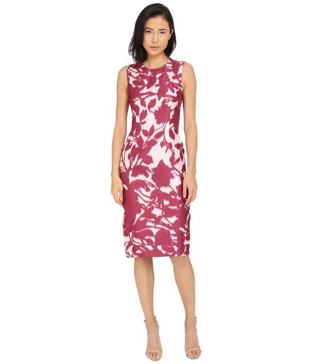 Prabal Burung Floral Shadow Dress