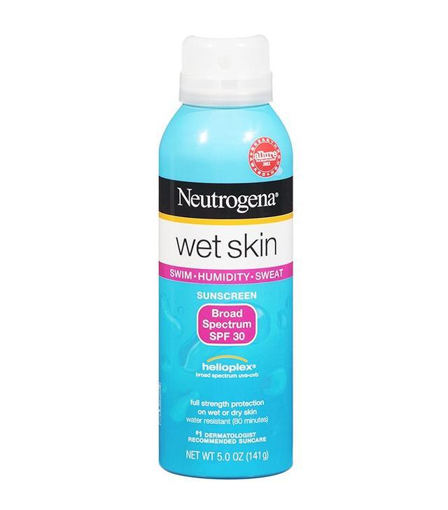 Neutrogena Wet Skin Sunblock Spray SPF 50