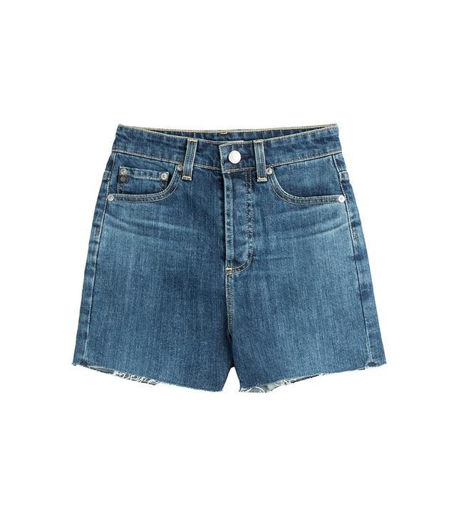 Alexa Chung for AG Cut-Off Denim Shorts