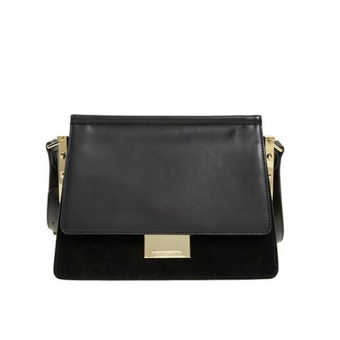 Abril Leather Shoulder Bag