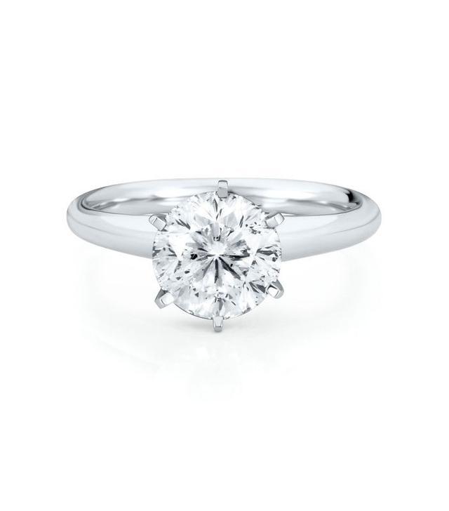 Helzberg Diamonds Radiant Star Solitaire Ring