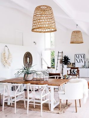 This Is Happening: Natural-Fiber Lighting