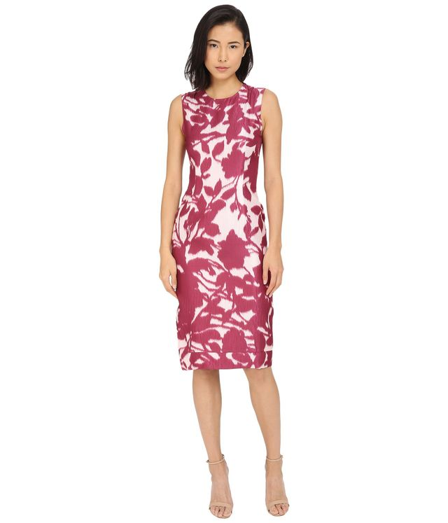 Prabal Burung Floral Shadow Dress