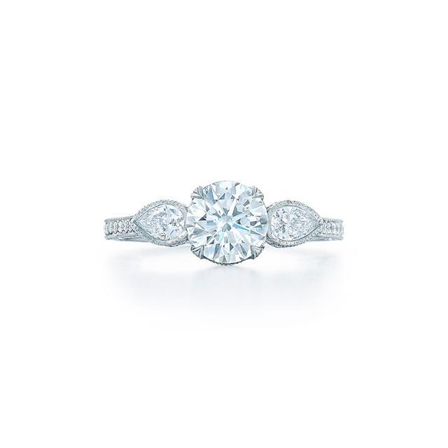 Kwiat Round Brilliant Diamond Engagement Ring