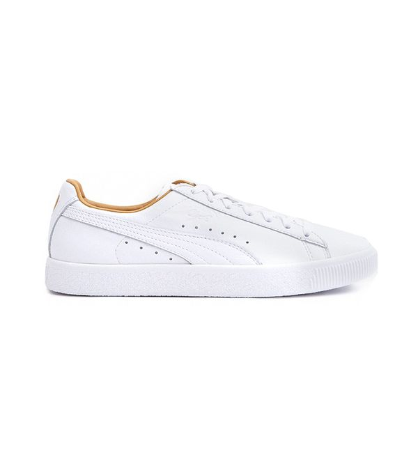 Clyde Core Leather in White
