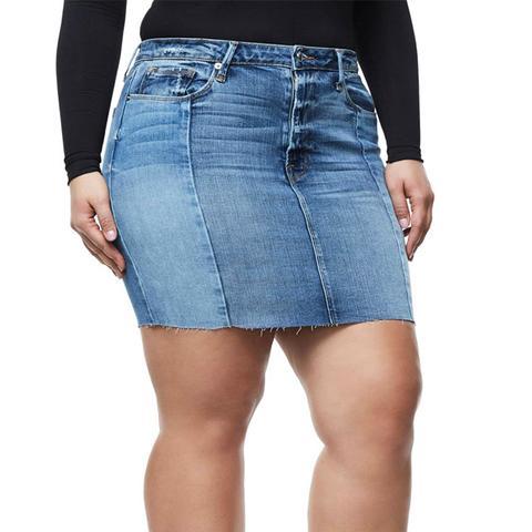 Patchwork Miniskirt
