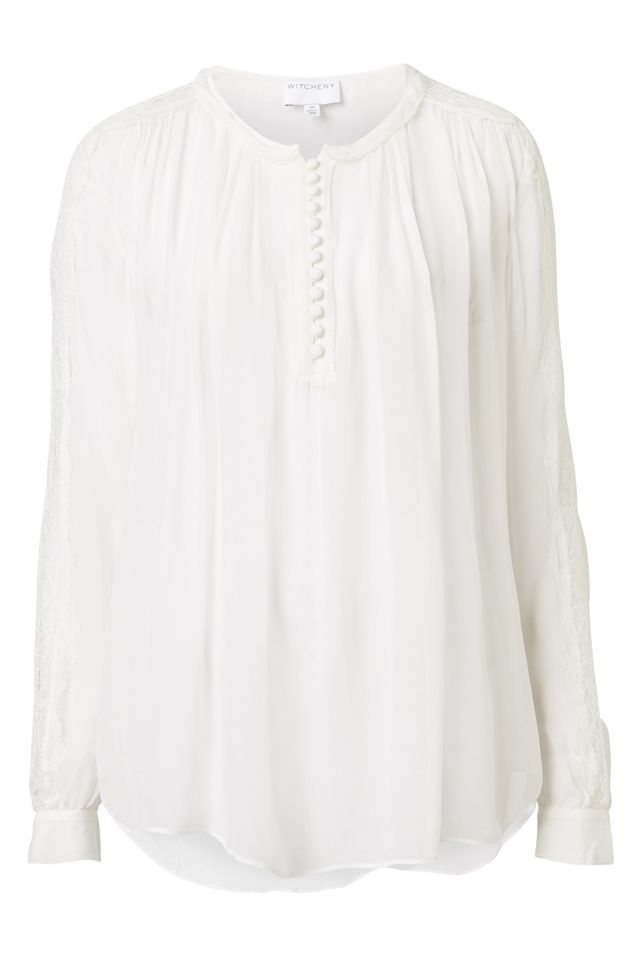 Witchery Lace Insert Top
