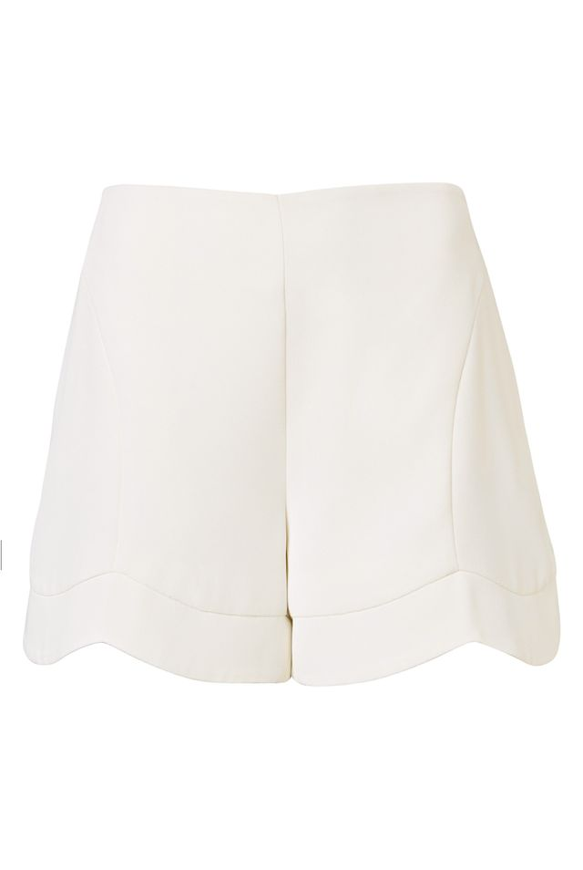 Witchery The Scallop Hem Shorts