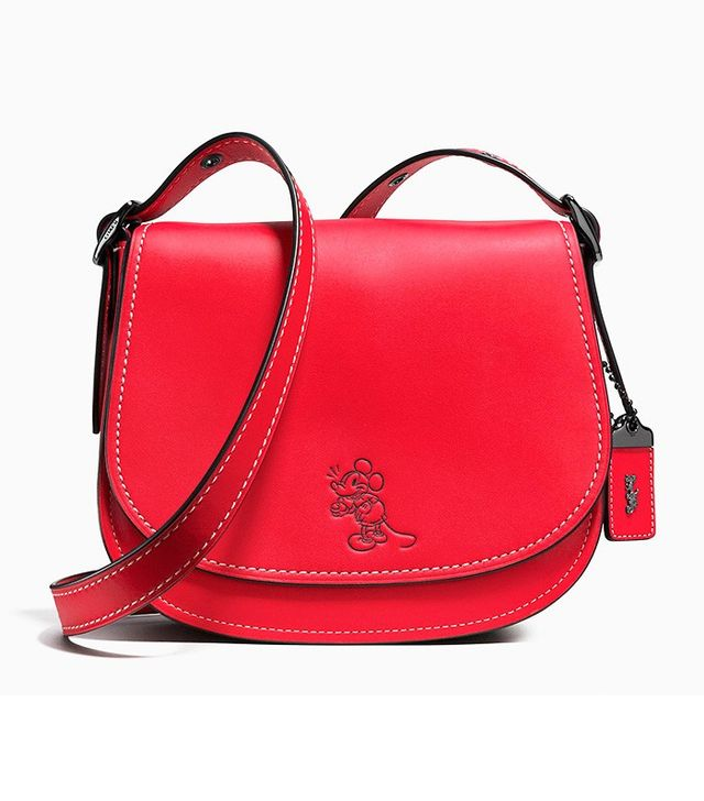 Coach Mickey Saddle Bag 23