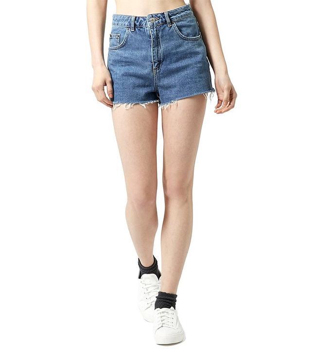 Topshop Mom Jean Cutoff Shorts