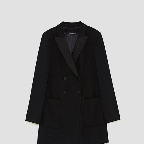 Long Jacket With Lined Buttons