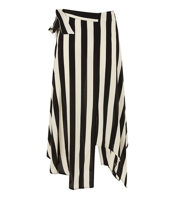 TALL Humbug Stripe Midi Skirt