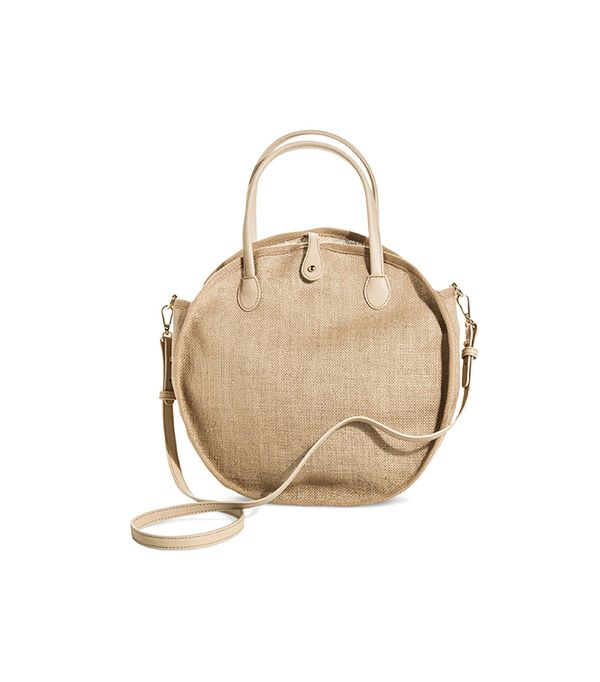Who What Wear Weave Circle Bag