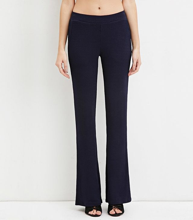 Forever 21 Texture Flared Pants