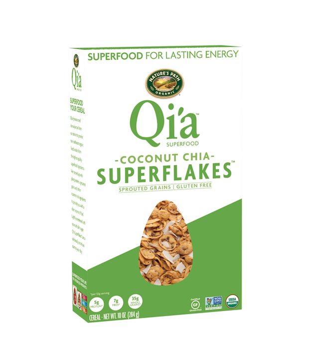 Nature's Path Qi'a Coconut Chia Superflakes