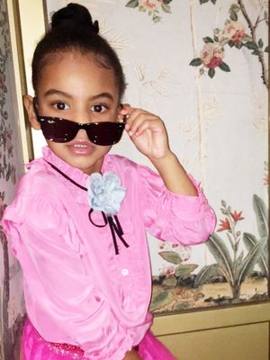 OMG: Blue Ivy Carter Has Some Serious Style Chops