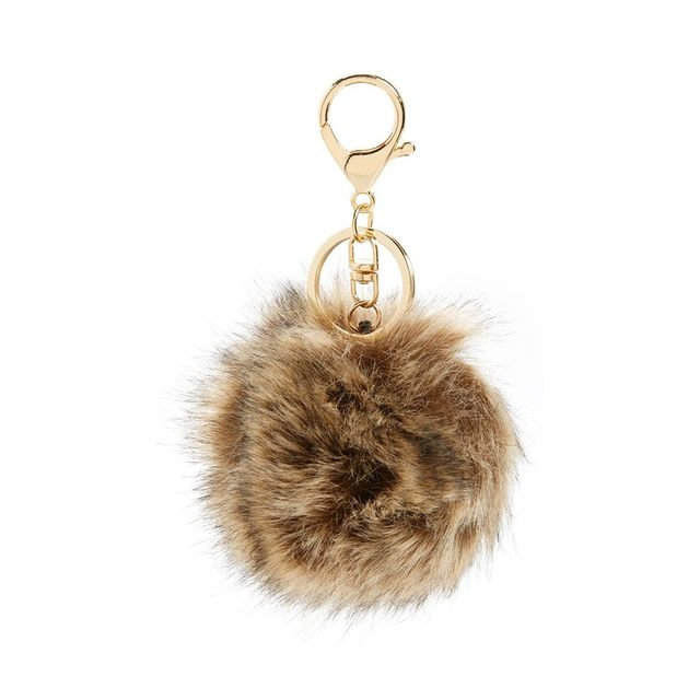 B.P. Faux Fur Pom Bag Charm