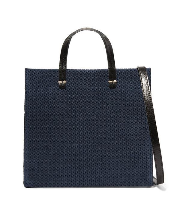 Clare V. Braided Suede Shoulder Bag