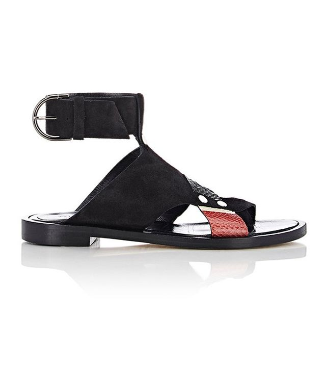 Thakoon Mixed-Material Sandals